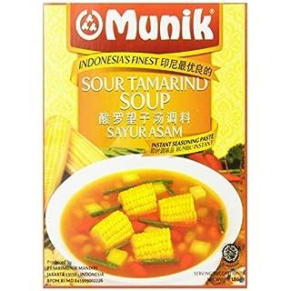 Munik Sayur Asem Vegetable Soup, Sour Tamarind, 180-Gram by Munik