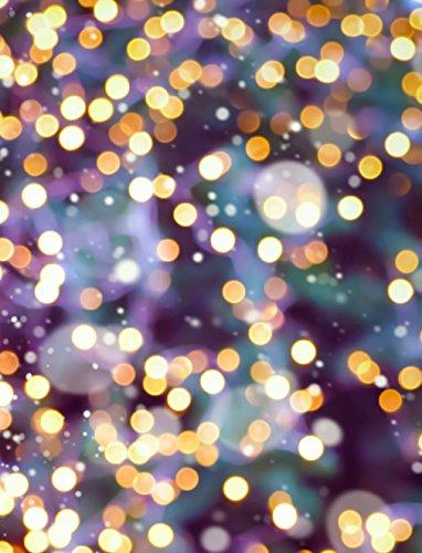 ckground Golden Lila Thema Farbe Neon Leuchtmittel Halo Party Hintergrund Digitale Fotografie Studio Requisiten 5× 7ft ()