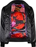 Musterbrand Street Fighter Collegejacke Herren Shadaloo College Jacket schwarz L