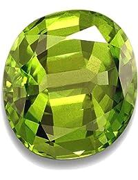 Tejvij And Sons 9.25 Ratti Peridot GLI Certified Gemstone