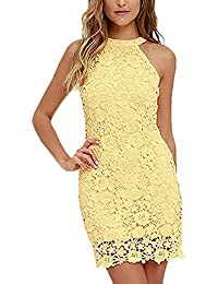 innovative design be05e 695d9 Amazon.it: abito da sposa - Giallo / Vestiti / Donna ...