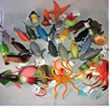 12 x Large Sealife Creatures Party Bag Fillers - 10-13 cm Long Great details & Colours