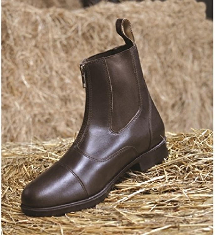 Mark Todd - Toddy - Stivali Bassi da Equitazione con Cerniera - Adulti Unisex | A Basso Costo  | Uomo/Donne Scarpa