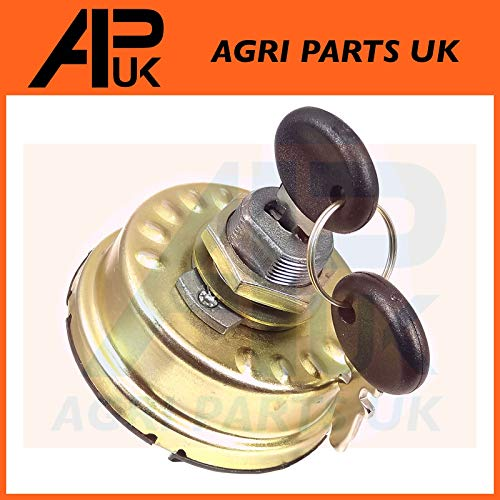 APUK 6 Position Starter Ignition Switch 87569357 Compatible with Ford New  Holland CNH Fiat Tractor