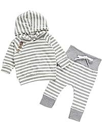 Baiomawzh Baby Girl Boy Ropa para Bebé Niños y Niñas Camisetas de Manga Larga + Pantalones Conjuntos