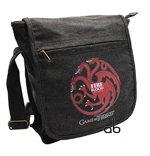 Game-of-Thrones-TV-Serien-Messenger-Bag-Umhngetasche-Targaryen-Fire-Blood