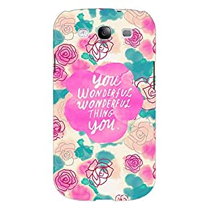 Jugaaduu Floral Pattern Back Cover Case For Samsung Galaxy Grand Duos I9082