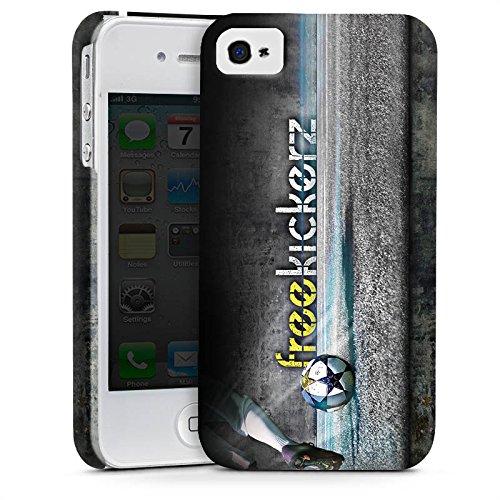 Apple iPhone X Silikon Hülle Case Schutzhülle Freekickerz Fanartikel Merchandise Fußball Premium Case glänzend