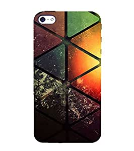 Fuson Designer Phone Back Case Cover Apple iPhone 5 ( Vividly Painted Glass )