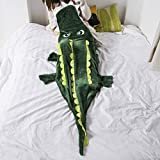 Best Old Friend Friends Rooms - Ataya Crocodile Snuggie Blanket for Kids, Fit 3-10 Review
