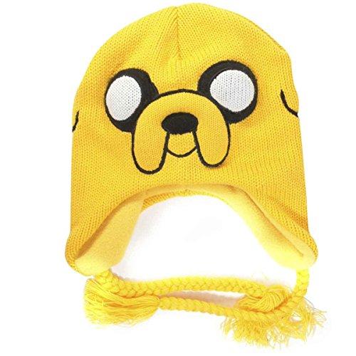 Abenteuerzeit Jake Nepal Mütze gelb (Adventure Time Jake Mütze)
