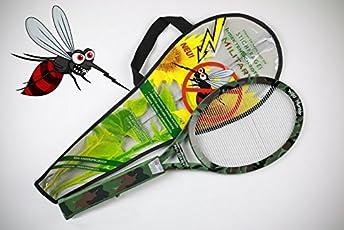 Insekten Schröter 7903 Elektronische Fliegenklatsche - Military Style inklusive Tragetasche