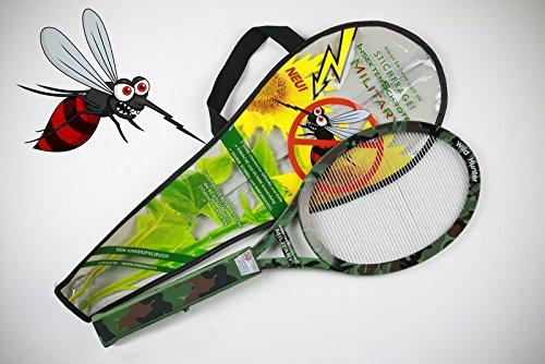 military-insekten-schroter-tapette-electrique-avec-piles-7903-poignee-soft-touch-et-cordon