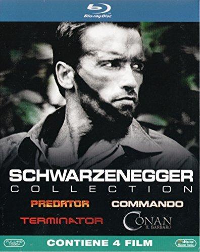 SCHWARZENEGGER Collection (4 Blu-ray) (Predator / Commando / Terminator / Conan Il Barbaro)