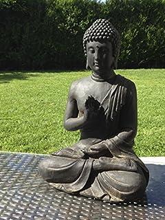 Statue bouddha jardin for Statut de jardin pas cher