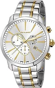 Pierre Cardin - PC105441S18 - Montre Homme - Quartz - Chronographe - Chronomètre - Aiguilles lumineuses - Bracelet Acier inoxydable multicolore