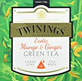 Twinings Exotic Mango und Ginger Green Tea
