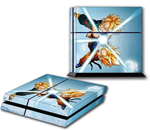 GOTEN & TRUNKS PS4 Skin Vinyl Decal for PlayStation 4 Sticker Dragon Ball Z 041 by Dizzy