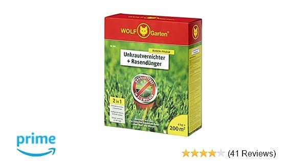 WOLF-Garten 2-in-1 Unkrautvernichter plus Rasend/ünger SQ 200; 3840725