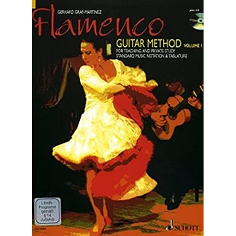 Flamenco Guitar Method: for Teaching and Private Study. Vol. 1. Gitarre. Ausgabe mit CD + DVD - Guitar Method Vol