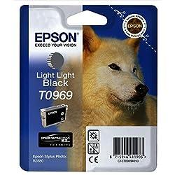 Epson T0969 Cartouche d'encre d'origine Gris clair