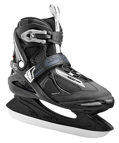 Roces Herren Big Icy Schlittschuh, Black/White, 50