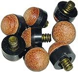 Billar - Puntera de taco de billar de 12mm - Rosca de metal 10 unidad