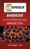 #2: SapRetailer® Coconut Shell Charcoal Briquettes (10 KG)