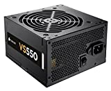 Corsair CP-9020097-UK VS Series ATX/EPS 80 PLUS Power Supply Unit, 550 W