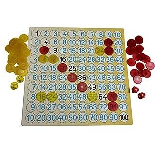WISSNER® aktiv Lernen - Lernspielset - Mathespiel - kleines Einmaleins - RE-Plastic°