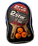 #2: Stag 2 Star Table Tennis Kit
