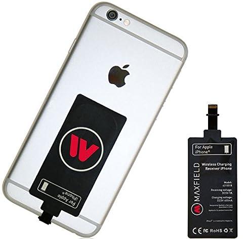 Maxfield Récepteur de chargement sans fil Qi pour iPhone 6,