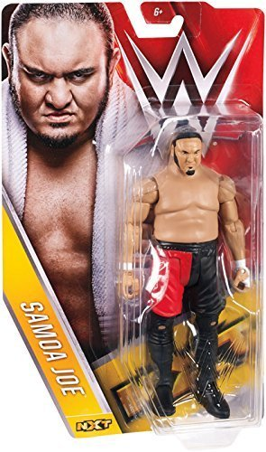 SAMOA JOE NXT - WWE SERIES 65 MATTEL TOY WRESTLING ACTION FIGURE
