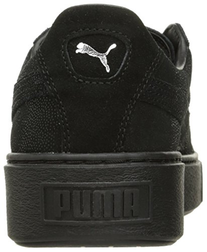 Puma - Puma Suede Platform Gold Puma Black-puma Black-puma Black
