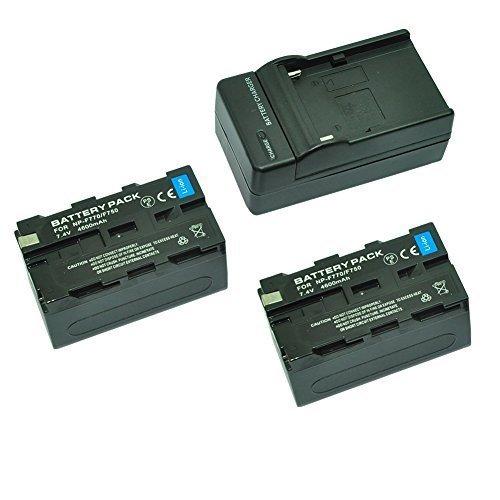 MP power @ 2X Reemplazo Li ion batería NP F750 NPF750