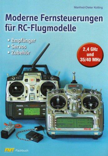 Moderne Fernsteuerungen für RC-Flugmodelle: Empfänger, Servos, Zubehör. 2,4 GHz und 35/40 MHz