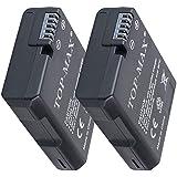 TOP-MAX® (2 Pack) EN-EL14 Batería para Nikon D3100 D3200 D3300 D3400 D5100 D5200 D5300 D5500,CoolPix P7000 P7100 P7700 P7800