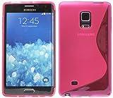S-Line TPU SchutzHülle für Samsung Galaxy Note EDGE N915F Silikon Hülle in Pink @ Energmix