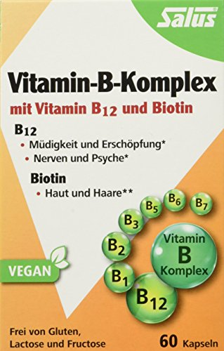 Ernährung Vitamin-b-komplex (Salus Vitamin-B-Komplex Kapseln (vegetabilde Kapseln), 1er Pack (1 x 22.8 g))