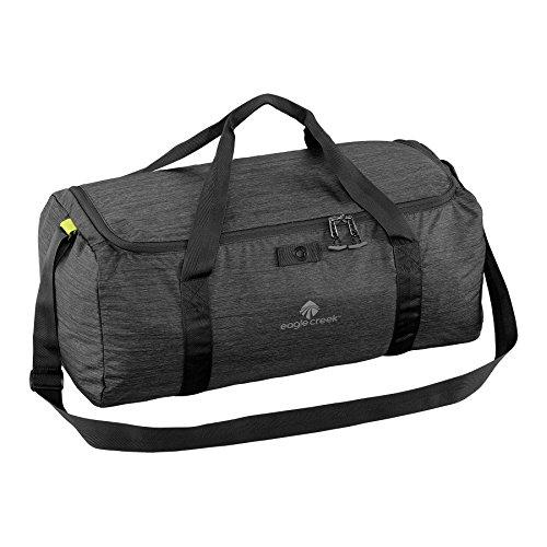 Eagle Creek Ultraleichter faltbarer Sporttasche Packable Duffel Handgepäck Tasche, 56 cm, 49 L, schwarz
