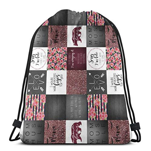 ZZHOO New Mexico State Flag Sackpack Drawstring Bags Polyester Backpack Outdoor Sports Gym Bag Yoga Runner Daypack Team Training Gymsack Big Capacity (Twin Sides) - Full Twin Loft