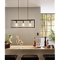 leuchtstarke pendelleuchte 3 flammig vintage schwebeplattform innenlampe esszimmerlampe hangeleuchte hangelampe pendellampe