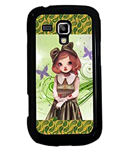 Printvisa 2D Printed Girly Designer back case cover for Samsung Galaxy S Duos S7582- D4134