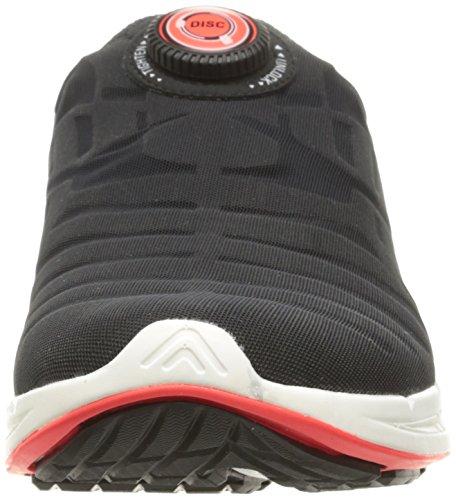 Puma Ignite Disc Synthétique Chaussure de Course Black-White-Red Blast