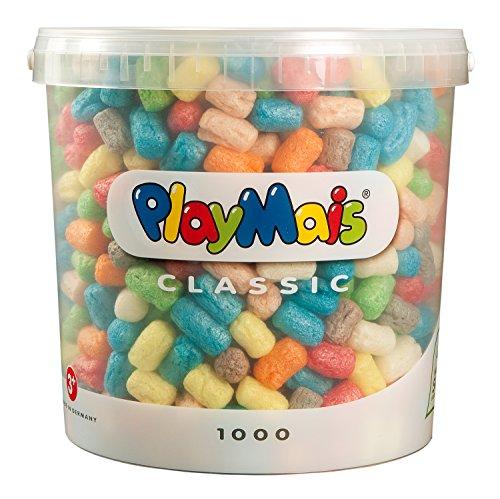 PlayMais 160027 - PlayMais Basic 1000 Eimer, ca. 1000 Teile E Eimer
