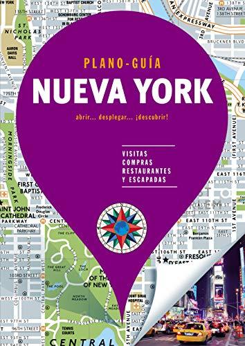 Nueva York (Plano-Guía): Visitas, compras, restaurantes y escapadas (Plano - Guías) por Autores Gallimard Autores Gallimard