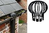 Good Ideas Filter/Abdeckung Für Die Herabführenden Regenrinnen Rohre (991) Schützt Rohre Vor Verstopfung Mit Blättern Und Schmutz