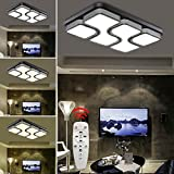 HG® 64W LED Deckenlampe Dimmbar Deckenleuchte Design Angenehmes Licht wohnzimmer