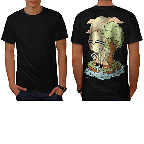 schrei-mich-ein-fluss-unterbrechung-teilt-herren-neu-schwarz-l-t-shirt-zuruck-wellcoda