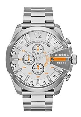 Diesel Herren-reloj cronógrafo de cuarzo acero inoxidable DZ4328